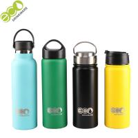 China Customized Double Wall Stainless Steel Vacuum Insulated Bottle with Powder Coated Painting on sale