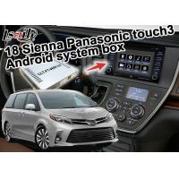 Android System Car Navigation Box Original Touch Screen Controlled For Toyota Sienna Manufactures