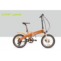 China 250w Small Foldable Electric Bike Battery Inside 800 Times Recycle Frame Tube on sale