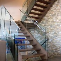 China wholesale price indoor side mount glass railing for stair balustrade Manufactures