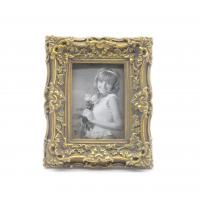 Champagne Baroque Antique Style Photo Frames Shabby Chic Style 2.5x3.5 Oval Manufactures