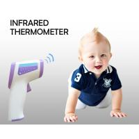 China LCD Digital Medical Grade Forehead Infrared Thermometer Baby 3 Colors Backlight on sale