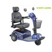 Quality 24V 40Ah Three Wheels Electric Mobility Scooter 6Km - 12Km / H 88Kgs Multi Function for sale