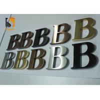 3D Architectural - grade Stainless Steel Letters For Wall Shop Signs Manufactures