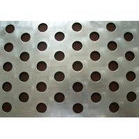Customized different hole 1mm Iron plate Galvanized perforated metal mesh Manufactures
