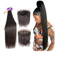 China 40 Inch Silky Straight Indian Natural Hair Extensions For Black Women on sale