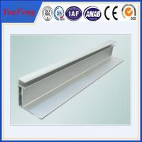 China extrusion aluminum profile for solar panel frame Manufactures
