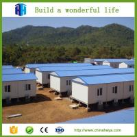 steel framed export prefab movable house prefabricated suriname Manufactures