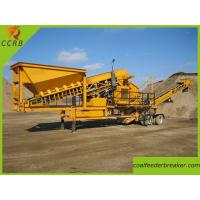 Trailer Type Mobile Crusher Plant
