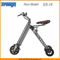 Reliable Folding Electric 3 Wheel Bike , Adult Mini Folding Electric Bike Manufactures