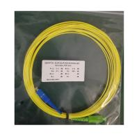 China Single Mode Simplex Lc Lc Patch Cord , Armored Fiber Optic Patch Cable on sale