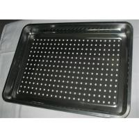 Customized Size Pizza Baking Tray With Holes For Keep Dry / Containing Food Manufactures