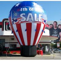 China pvc tarpaulin Inflatable advertising balloon / inflatable red giant ground balloon for grand sale on sale
