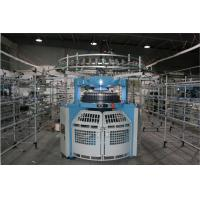 Good Stability Double Jersey Circular Knitting Machine Fast With Simple Structure Manufactures
