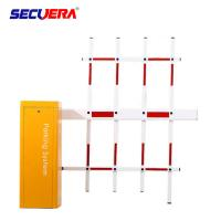 China car parking and toll access control automatic articulated DC parking boom barrier gate with long range rfid reader on sale