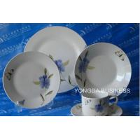 ceramic dinner set,  plates and dishes,  24 pieces dinnerware Manufactures