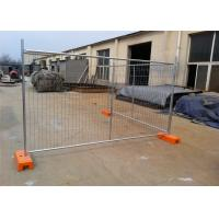 OD 32 Pipes Secure Temporary Fencing Construction Site Fence Panels Industrial Style Manufactures
