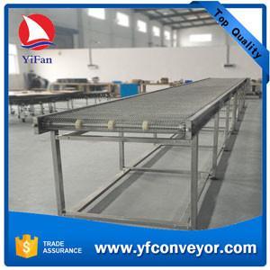 Stainless Steel Mesh Belt Conveyor Manufactures