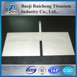 China platinum titanium anode sheet for sale on sale