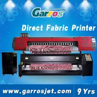 6 feet large direct to garment printer for 100% polyester fabrics Garros TX180D Manufactures