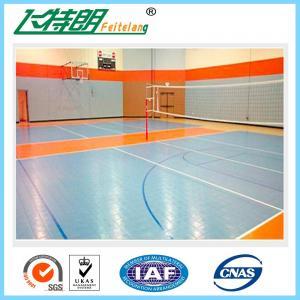 Basketball Interlocking Rubber Floor Tiles PP Commercial Rubber Flooring Manufactures