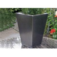 Contemporary Garden Art Stainless Steel Planter Metal Planter Boxes WS-ST841 Manufactures