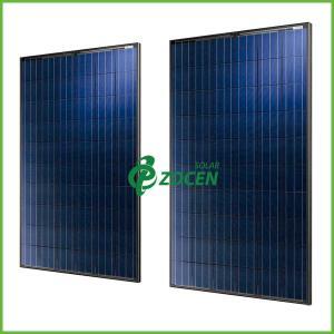 White PET / EVA 285W PV Polycrystalline Solar Panels For Homes / Marine Manufactures