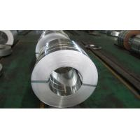 Regular Spangle 30mm to 400mm Hot Dipped Galvanized Steel Strip with Z10 / Z27 Zinc Coating Manufactures