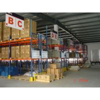 Logistics Equipment Heavy Duty Metal Shelving Easy Installation 10 Years Warranty Manufactures