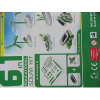 6 in 1 solar toys assembly can be assembled: airboat, windmill, puppy, car, aircraft, rota Manufactures