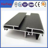 6063-T5 matte anodized aluminum extrusion for advertising Manufactures