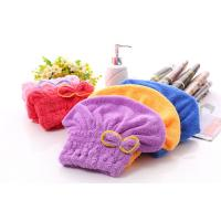 China coral fleece hair-drying towel cap Hair Wraps/Magic Fast Dry Towel on sale