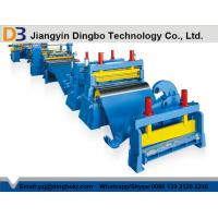 Buy cheap Automatic Easy OperationSteel Slitting line With Color Customized from wholesalers