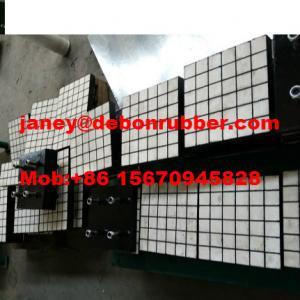 China High Wear resistant composite polyurethane ceramic rubber wear liner on sale