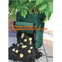 potato planter with 7/10 gallon potato planter,potato grow pots with handles flap for easy havesting, and drainage holes Manufactures