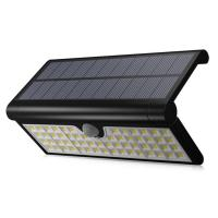 3W Outdoor Wireless 58LED Foldable Solar Motion Sensor Lights Waterproof Security Wall Lighting Outside for Front Door Manufactures