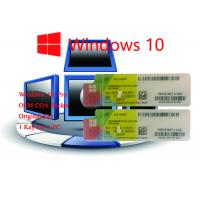 32bit Operating System 100% Authentic Win 10 Pro COA Sticker   Online Activate Manufactures