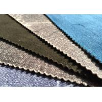 Indigo 98.2 Cotton 1.8 Spandex Velveteen Fabric Durable Outdoor Fabric Manufactures