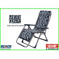 Adjustable Fishing Adults Kids Folding Lounge Chair With Arms Manufactures