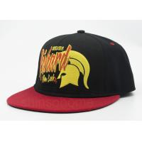 Team Stretch Cotton Flex Fit Baseball Snapback Hats Embroidered , Elastic Sweatband Manufactures