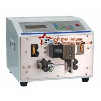 China Fully Automatic AWG30-AWG14 PVC Wire Cutting And Stripping Machine on sale