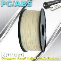 High Toughness 1.75mm 3D Printer Filament PC / ABS Filament 1.3Kg / Roll Manufactures