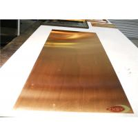 Professional Conductive Brass Copper Sheet Metal C12200 Cold rolled Manufactures