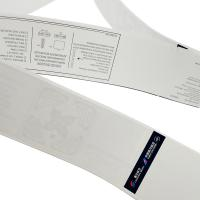 RFID UHF Impinj H47 Airline Luggage Stickers Label Tag / Luggage Identification Stickers Manufactures