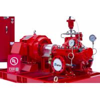NFPA20 Standard Diesel Engine Driven Fire Pump 415 Feet With Air / Water Cooling System Manufactures