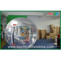 Aqua Park Inflatable Sports Games Giant Body Zorb Ball 1.0mm PVC Summer Fun Manufactures