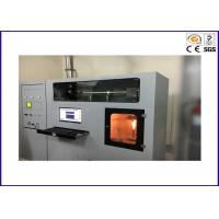 Building Material Heat Release Rate Flammability Test Equipment / Cone Calorimeter ISO 5660-1 Manufactures