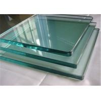 China 8mm Thickness Tempered Safety Glass / Toughened Glass Cut To Size Polished Edges on sale