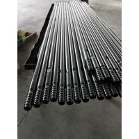 T38 T45 T51 Mining Rock Drilling Tools Thread Extension Rods With 600mm - 6400mm Length Manufactures