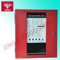 Conventional fire security alarm 24V 2 wire systems controll panel 8 zones Manufactures